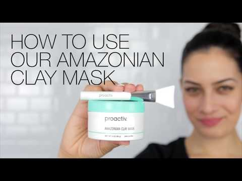 How To Use The Amazonian Clay Mask From Proactiv