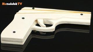 як зробити пістолет з фанери