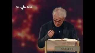 Michele Placido recita l'Ecclesiaste (Qoelet 3/4)