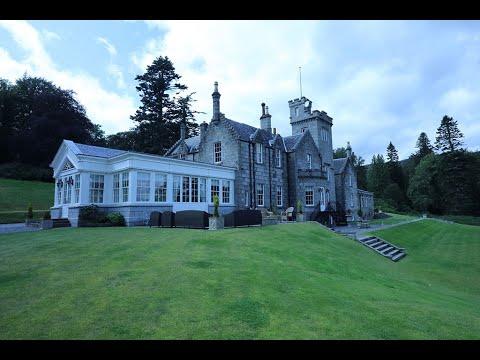 01 - Glentruim Castle Video Tour, Newtonmore, Scotland (Wedding/Event Venue)