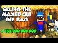 Selling A Full INFINITE BAG | Treasure Hunt Simulator