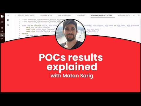 POCs results explained