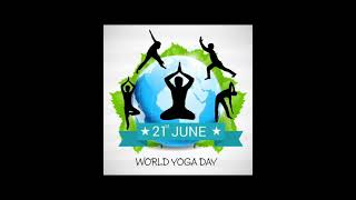 Yoga Day Celebration by KG -A and B Students.