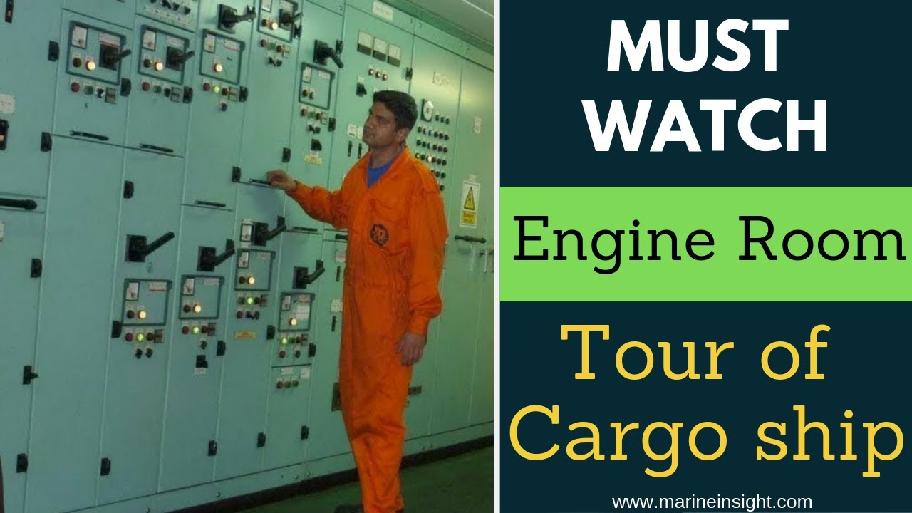 Ship Engine Room Tour of Container vessel- Must Watch