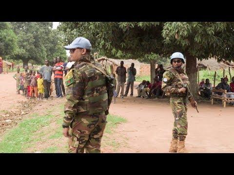 Minusca's military observers intelligence gathering
