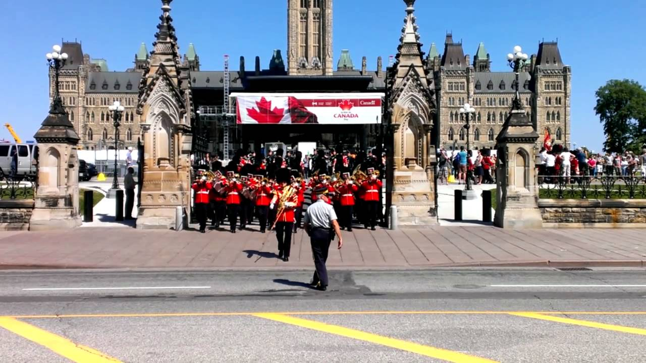 The governor general s foot guards - Governor General S Foot Guards Parliament Hill