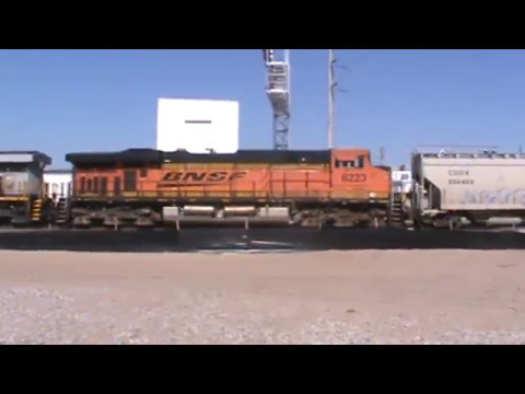 BNSF / CREX general Freight Tulsa, OK 5/14/17 vid 2 of 7