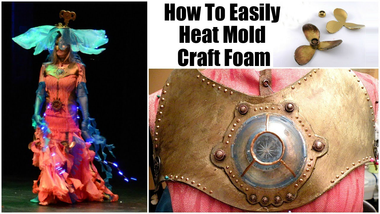How to Easily Heat Mold Craft Foam