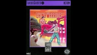 China Warrior 1989 Turbografx 16