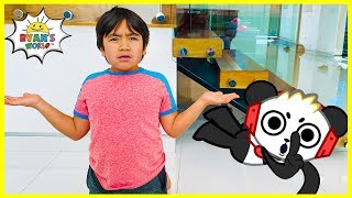 Download Ryan play hide and Seek with Combo Panda and Learns Panda Facts!!! Mp3 and Videos