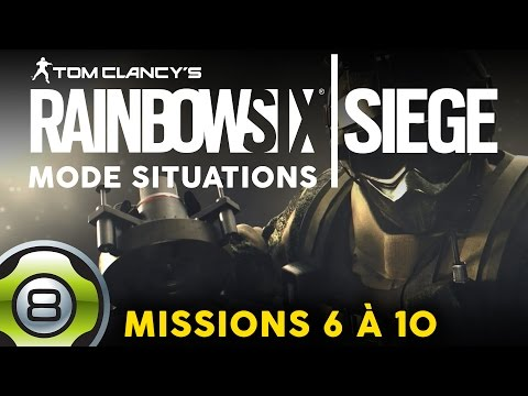 Rainbow Six Siege FR - Situations - Protection, Neutralisation et Fortification (2/2)