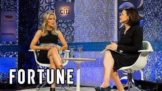 Sheryl Sandberg and Fox News Anchor Megyn Kelly discuss tech   Full Interview Fortune MPW