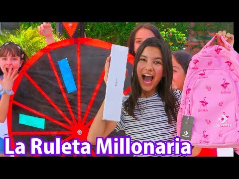 LA RULETA MILLONARIA Decide lo que gano,  APPLE WATCH y muchos premios   TV Ana Emilia