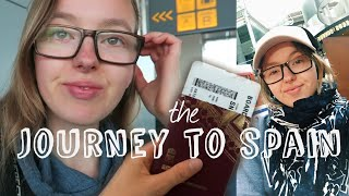 THE JOURNEY TO SPAIN ⎮ OVER NIGHT AT AIRPORT