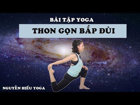Bài tập Yoga giúp bắp đùi thon gọn _ Nguyễn Hiếu Yoga
