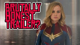 Captain Marvel HONEST TRAILER is BRUTALLY Honest!