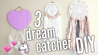 DIY DREAM CATCHER | 3 styles ♡