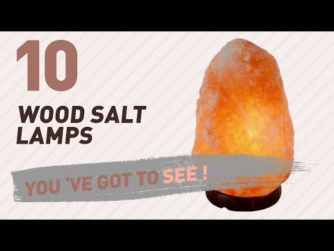 Wood Salt Lamps // New & Popular 2017