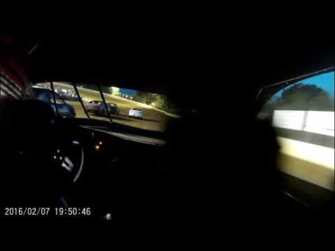 Branson Woodward #1W ucar Incar camera @ Potomac speedway