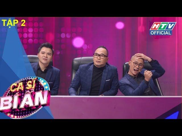 HTV CA SĨ BÍ ẨN   Bất ngờ trước giọng hát bà xã NS Chí Tài   MÙA 2   CSBA #2 FULL   5/3/2018