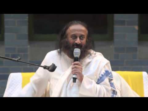 Questions and Answers Session with Sri Sri - Amsterdam, The Netherlands - Nov 2015
