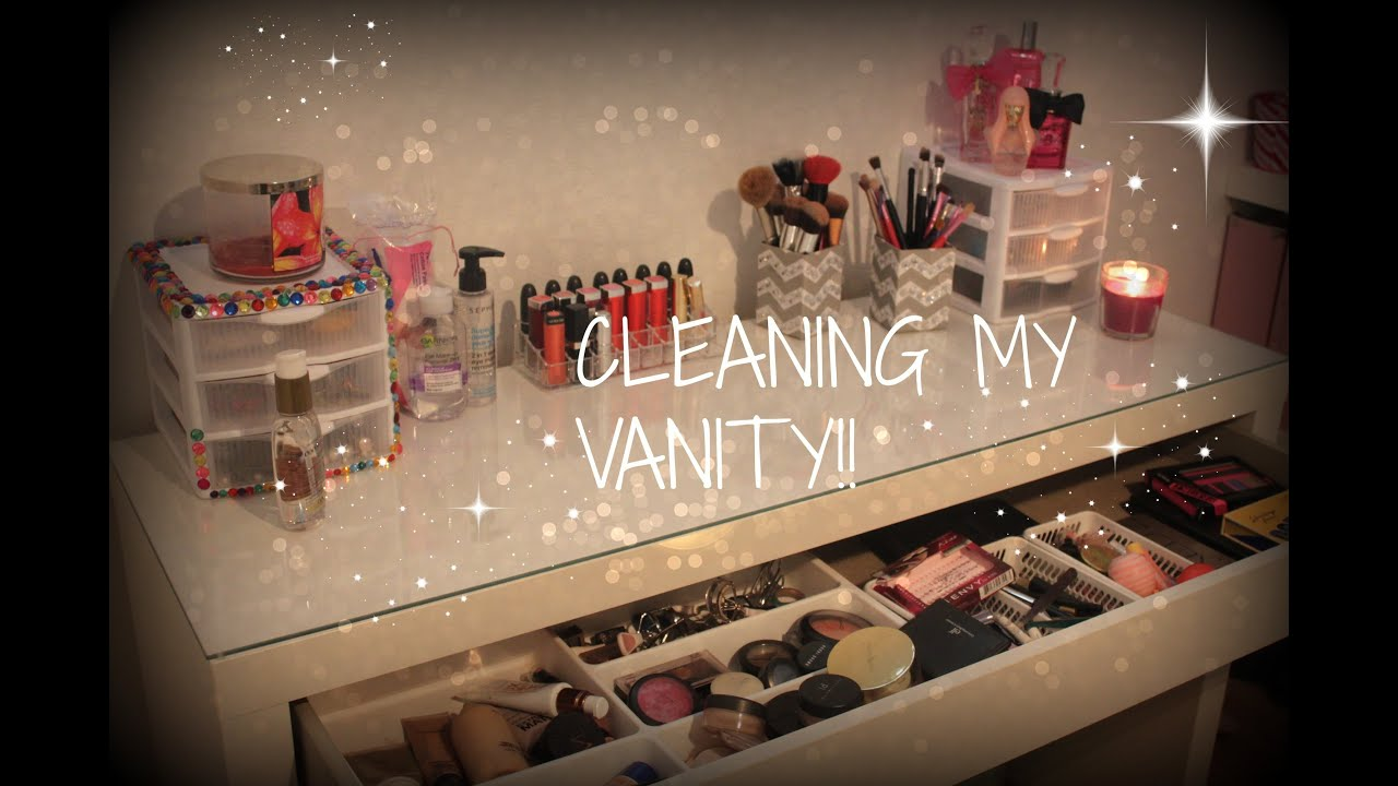 cleaning your vanity organization amp diy ideas youtube