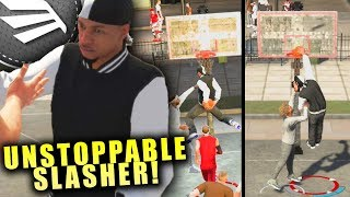 Slasher Started The Game With A Contact Dunk - 2K Is Trolling! NBA 2K20 Park Gameplay