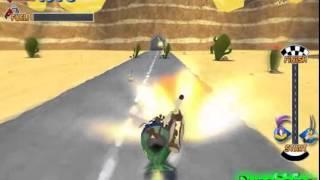 Бесплатные игры онлайн  Игра Мультяшные 3Д гонки, игры для детей