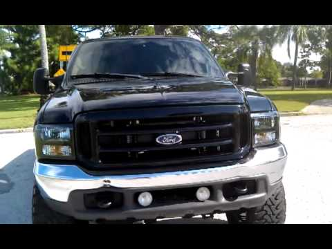 Ford F350 Headlights 2000 F250 CC 7.3 Powerstroke FOR SALE - YouTube
