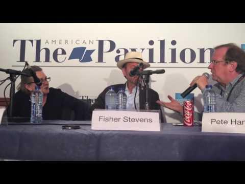 Carrie Fisher, Fisher Stevens, Pete Hammond