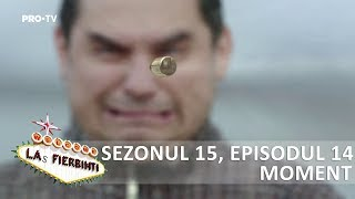 Las Fierbinti - SEZ. 15, EP. 14 - Giani trage cu pistolul spre Dorel
