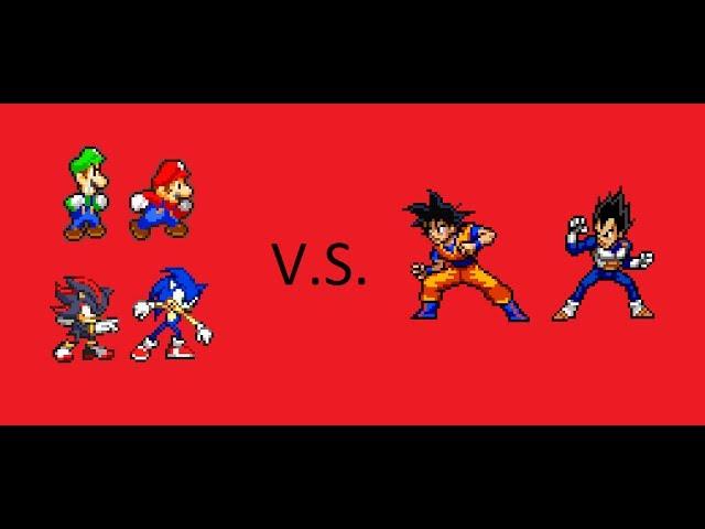 Mario Bros. and Sonic the Hedgehog vs. Dragon Ball Z