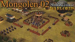 Ein Blitzschneller Vorstoß - Mongolen M02 - Stronghold Warlords | Let's Play (German)