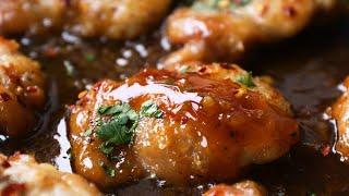 Honey Garlic Chicken | Deli¢ious Easy Dinner
