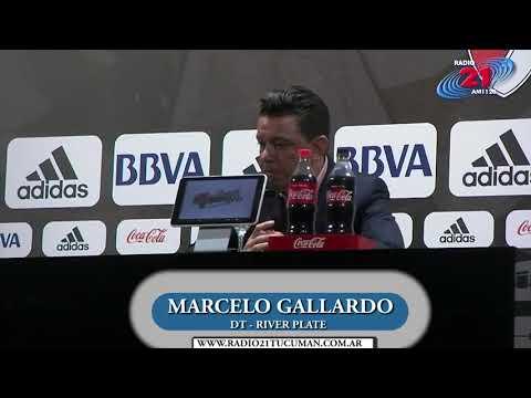 River Plate 2 - Atletico Tucumán 2 - Habla Marcelo Gallardo