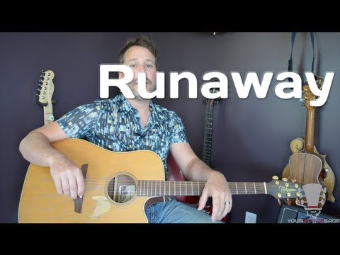 How to play Runaway by Del Shannon - Quick Guitar Lesson