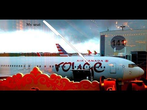 Air Canada Rouge - Premium Economy Boeing 767 Lisbon - Toronto
