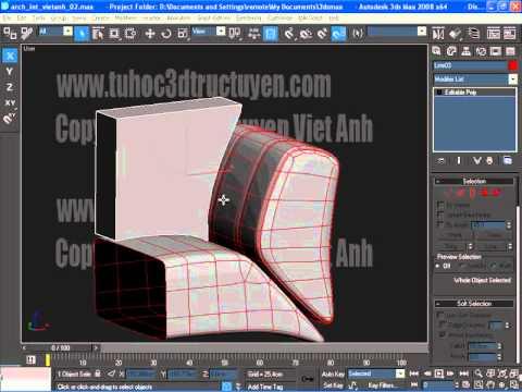 3D max Model Part 2