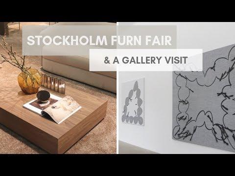 Stockholm Furniture Fair & A Gallery Visit // Architerior