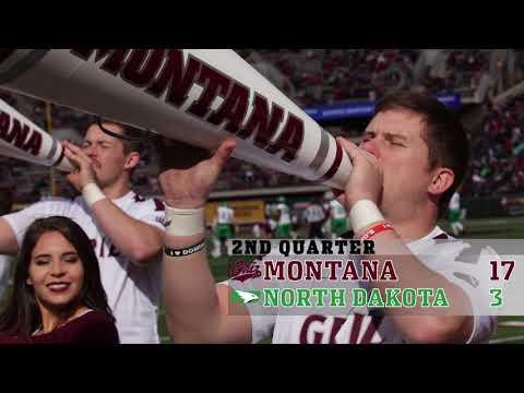 Game 7, North Dakota vs MontanaFootball Highlights