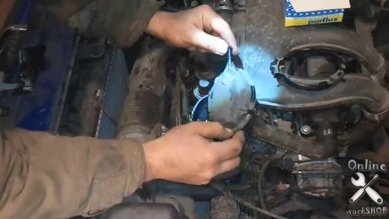 peugeot tepee 2010 как промыть топливную систему