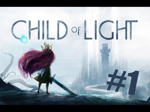 ДИТЯ СВЕТА! Child of Light #1 СВЕЖАЧОК от Ubisoft Montreal (HD)