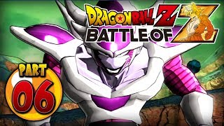 Dragon Ball Z: Battle of Z PS3 - Part 6 - Frieza Transforms! (Missions 13-15)