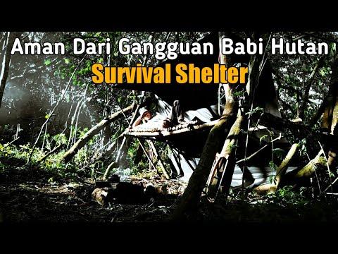 Bushcraft Survival Shelter Camp Indonesia