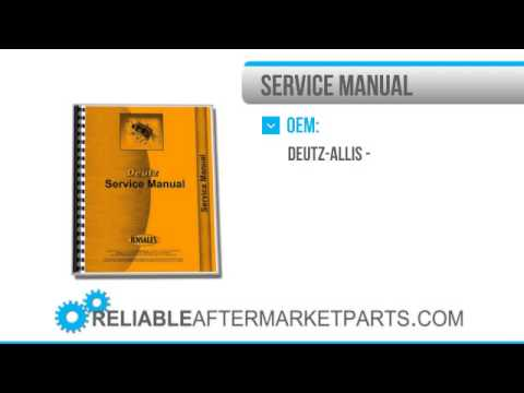 1843 New Deutz Allis D4006 Tractor Service Manual Wiring Diagram Only