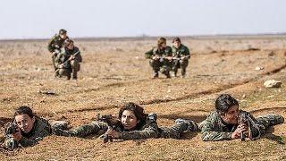مقاتلات على خط الجبهة في مواجهة داعش     28-7-2015