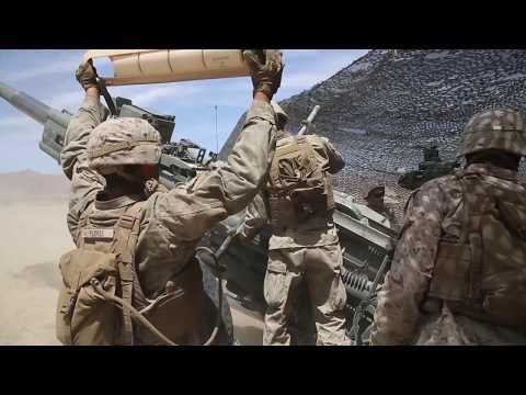 Marines Provide Artillery Support - ITX 5-19