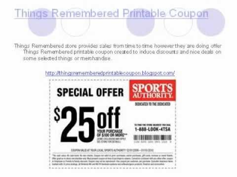 things remembered printable couponavi