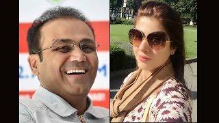 Virender Sehwag trolls Ashwin, gets trolled by wife Aarti instead on Twitter| Oneindia News