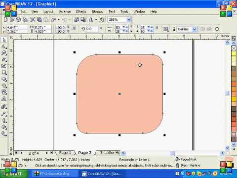 Corel Draw 12 Tutorial Urdu Part 4 By SM NIHAL YouTube